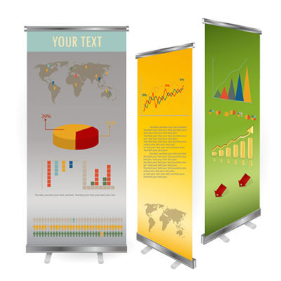 retractable custom vinyl banners