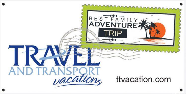 Travel Agency Vinyl Banner