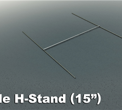 wire h stakes